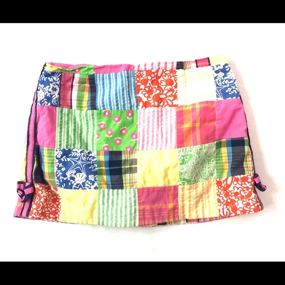Lilly Pulitzer Other - Lilly Pulitzer Skirt Patch work